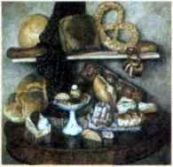 И. Машков. Хлебы. 1924 г.