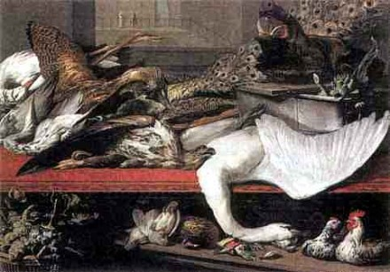 Неизв. худ. Лавка дичи. Между 1618 и 1621 гг.