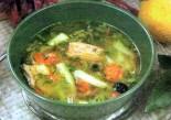 Суп лососевый