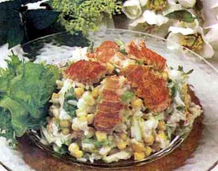 """Рецепт """"Салат из раков"""""""