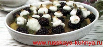 Запеченный фруктовый десерт