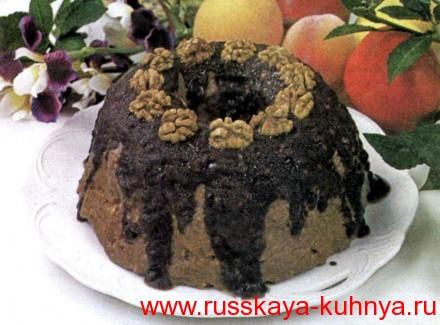 Торт сухарный без выпечки