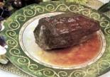 Мясо, нашпигованное вишней