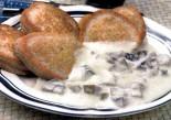 Блинчики гречневые с грибной начинкой